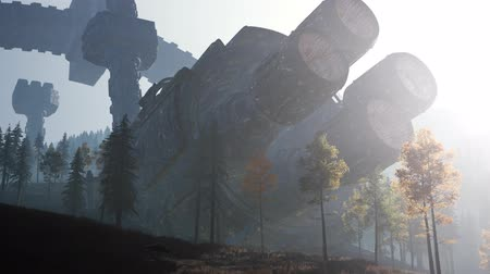 monstro : UFO crashed in the forest