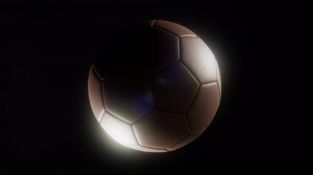 perdedor : soccerball against a dark background