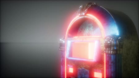 collectible : retro jukebox in the dark