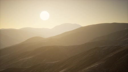 terreno extremo : Mountains landscape in Afghanistan at sunset