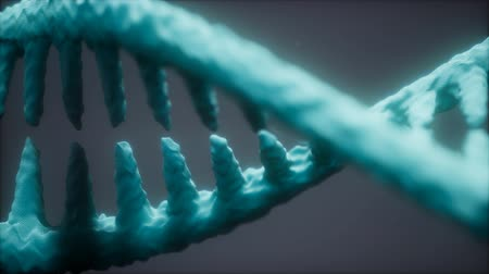 glied : helle partikuläre 3D gerenderte DNA Videos