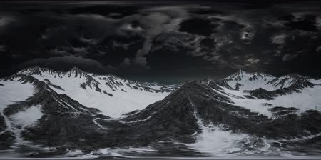 정도 : VR 360 Norway Mountains Severe Landscape