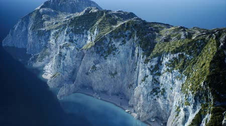arktický : islands of Norway with rocks and cliffs