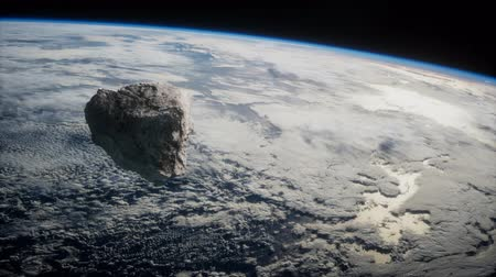 Dangerous asteroid approaching planet Earth