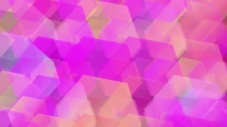 retro patroon : Abstract Animated Hexagon Achtergrond Full HD video