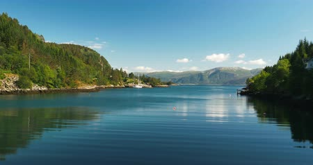 tvindefossen : 4K, Norwegian Sea, Norway Stock Footage