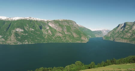 tvindefossen : 4K, Scenic Viewpoint at Stegasten, Norway