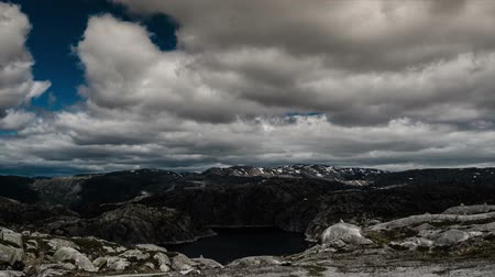 эпический : 1080p, Epic and dramatic time lapse of Lysebotn area in Norway