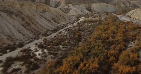 arejado : 4k Aerial View in the desert, Sierra Alhamila, Spain