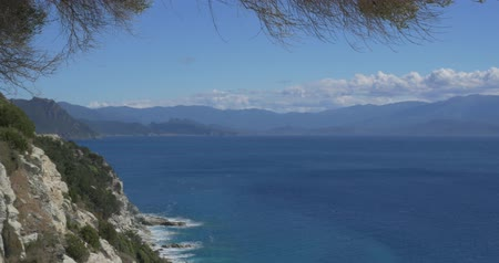 corte : 4K, Viewpoint at Nonza, Corsica, native camera output