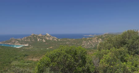 corte : Native Camera Output, 4K, most west point of Corsica Stock Footage