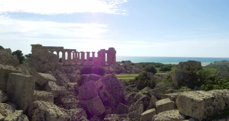 Сицилия : 4K, Temple of Juno, Sicily, Italy