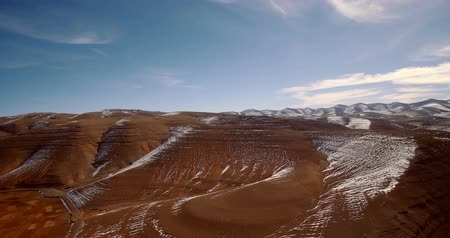 marrocos : Aerial, Snowy Mountains, Landscape Around Agoudal, Morocco. Graded and stabilized version. Watch also for the native material, straight out of the camera. Vídeos
