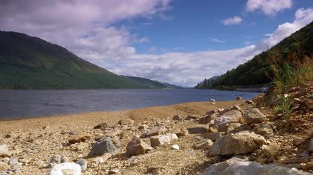 william : Loch Lochy, Letter Finlay, Scotland - Graded Version Stock Footage