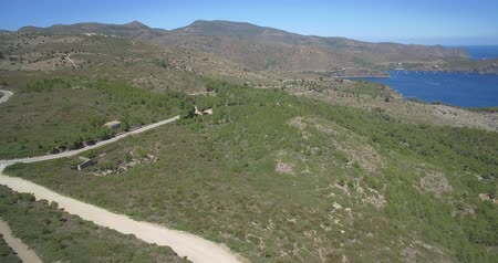 bosque : Aerial, View On Golf De Roses, Spain - native