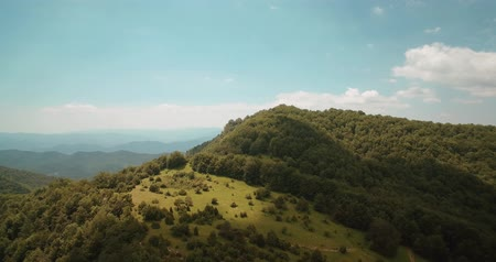 pireneusok : Aerial, Above The Forrests Of The Pyrenees, Spain - graded Version
