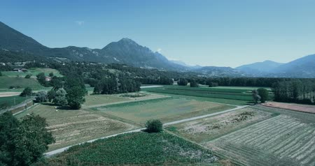 batido : Aerial, Flying Around Aera Mont De La Coche, France - bleached bypass