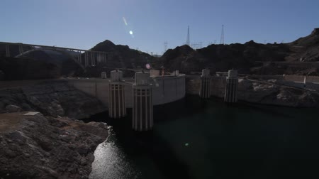 mead : Hoover Dam, Nevada, United States, native Stock Footage