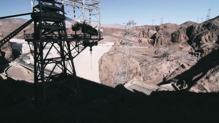 nevada : Hoover Dam, Nevada, United States. graded