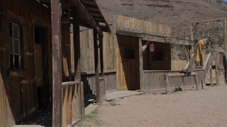 batı : Details Of An Old Wild Western Village In Arizona, USA