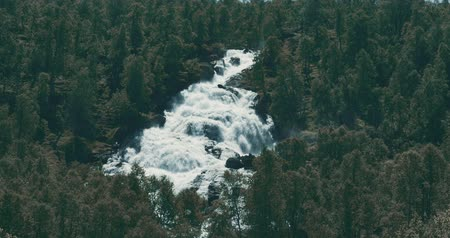stony : Norwegian Waterfall