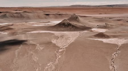 лунный : Aerial, Moon Landscapes At Paso Sico, Chile - cine version