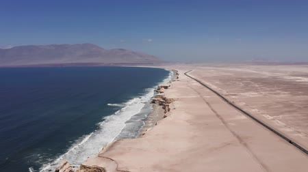 versiyon : Aerial, La Portada Coastline At Antofagasta, Chile - neutral version