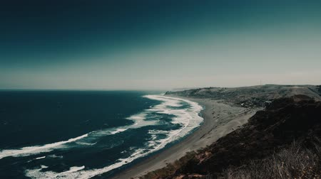 wavebreaker : Beach At Puertecillo, Chile