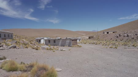 pedregoso : Abandoned Mine Village At Tocotocare; Chile