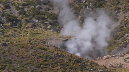 erupt : Thermal Source At Tocotocare Area, Chile
