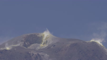 Анды : Closeup View Onto Spouting Putana Volcano, With Lots Of Heat Waves, Chile