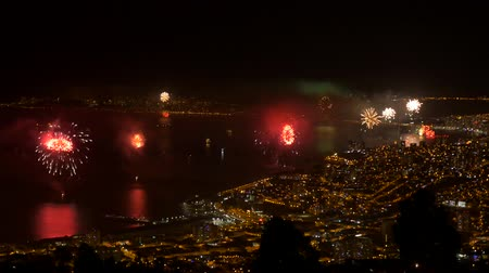 南の : Huge Firework, Valparaiso - Biggest Firework In South America - native version.