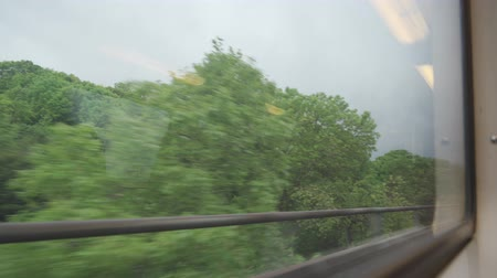 sight seeing : Driving By Train From Paris To Versailles, France - native clip Stock Footage