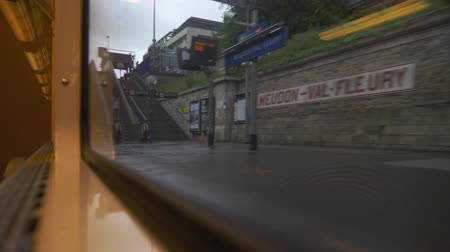 видя : Driving By Train From Paris To Versailles, France - neutral version