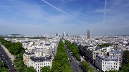 triumphal arch : Paris Skyline From The Triumphal Arch, France, neutral version