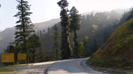 kopec : Beautiful mountain road in the Himalayas