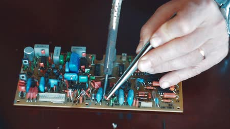 soldering iron : manual soldering of electronic components