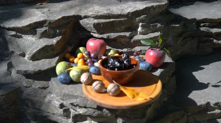 sortimento : autumnal still life in the nature