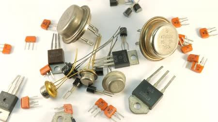 yaldız : Old Radio components transistors, the times of the USSR