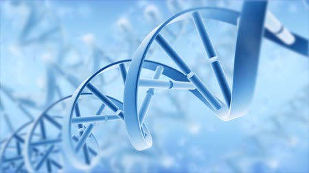 ДНК : Abstract DNA. Motion background