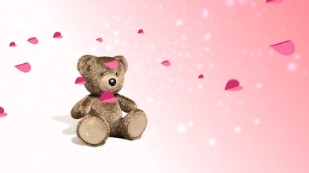 Cute  teddy. With love to you.