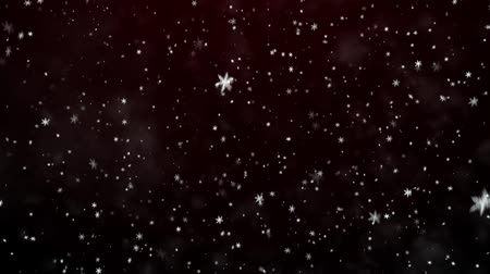 sniezynka : New Years frosty background and falling snowflakes