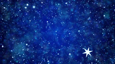 flaş : Space star background of dark blue color
