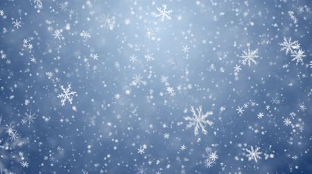 pré natal : Falling snowflakes, snow background