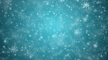 sniezynka : Winter New Year background, falling snowflakes