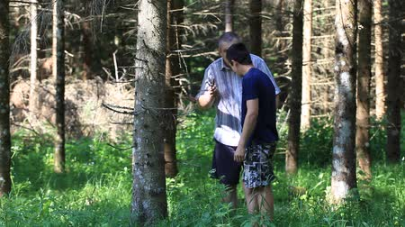 av : Father and son with optical rifle in the woods episode 9