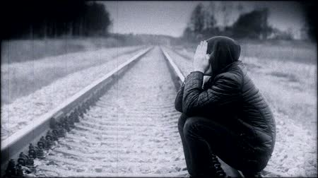 be sad : Depressed boy on the railway episode 1