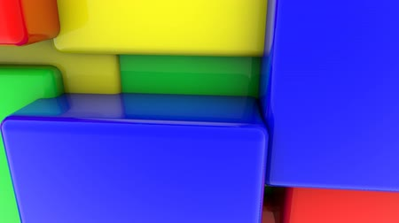 cubos : Abstract colored squares
