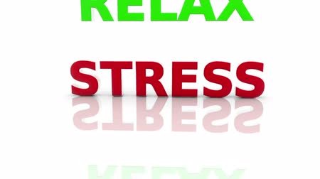 stress : Stress,Relax Stock Footage
