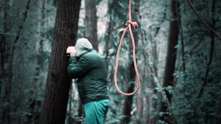 male : Man with noose in the woods episode 4